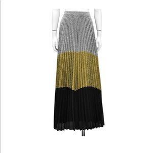 0b74427559f6 Gracia Skirts | Metallic Colorblock Skirt | Poshmark